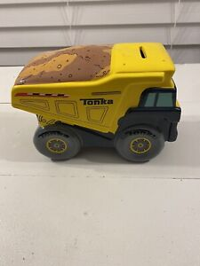 Tonka Porcelain. / Ceramic Large Bank - Dump Truck