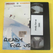 VHS film READY FOR US Onboard Snowbox magazine 2001 (F107)no dvd