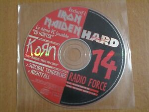 HARD FORCE 14 - IRON MAIDEN, KORN, SUICIDAL TENDENCIES, NIGHTFALL CD