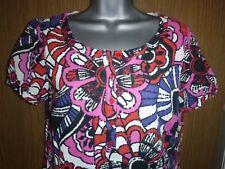 m&s floral cotton tunic dress size 10