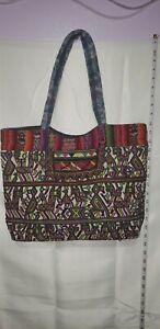 Guatemala Huipil bag, beach bag. Artesanal. Vintage cartera tipica, bolso.