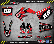 Honda CRF 250 - 2008 2009 Full Custom Graphic Kit DIGGER Style sticker kit