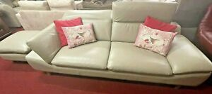 French Linen Colour 3 Seat Sofa (2232)  **Offer Price**