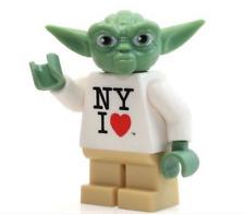 **NEW** LEGO Custom Printed YODA NY EDITION Star Wars Minifigure Replica