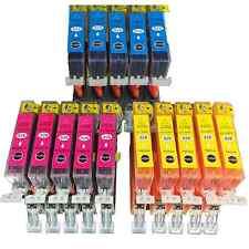 15 inchiostro per Canon Pixma ip4850 mg5150 mg5250 mg5350 mg6150 mg8150 mx885 con Chip