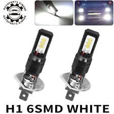 2x H1 160W LED Low Beam CSP-6 Fog Light Bulbs Driving Lamp 6500K White