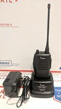 ICOM IC-F21S UHF 2 CH 4 Watt Radio 440-470MHZ Charger Battery Antenna TESTED
