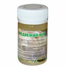 60 g. 100% Natural Bear fat, bear tallow, oil. Hight quality Russian product.
