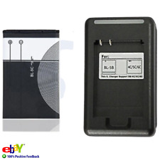 1020mAh Li-ion Battery For Nokia BL5C Original Charger 3.7V Batterie Replacement