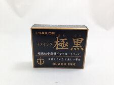 SAILOR JAPAN Fountain pen Ink cartridge Black Kiwaguro φ6.5 x 49.5mm