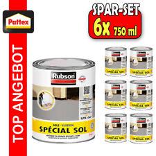 6x Henkel Rubson 0,75L GRAU Bodenbeschichtung Epoxid Bodenbelag Farbe Betonfarbe