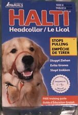 Halti head Collar for Dogs,  Stops Pulling, size 3, black