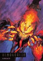 DEMOGOBLIN / Spider-Man Fleer Ultra 1995 BASE Trading Card #75