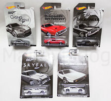 2015 Hot Wheels 1/64 James Bond 007 LTD Series Complete 5 Car Set! LAST TWO SETS