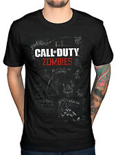 Official Call Of Duty Black Ops 3 Mob Of The Dead T-Shirt Zombies COD Modern War
