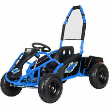 MotoTec Mud Monster Kids Electric 48V 1000W Go Kart Full Suspension 3-Colors Us