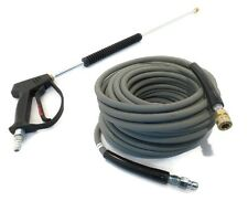 SPRAY GUN, WAND, & 100' (Non-Marking) HOSE - Excel Devilbiss EXWGC3030, 3003CWH