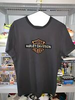 Harley Davidson Men's Slim Fit T-Shirt Grey 99101 20VH New Rare W/ TAGS LARGE