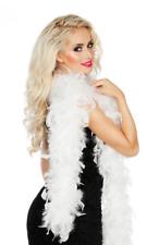 Blanc Boa en Plumes Cabaret Déguisement 50g 180cm Accessoire Charleston Saloon