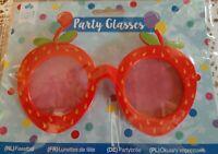 lunette de déguisement fête accessoires costume spectacle théâtre décor fraise