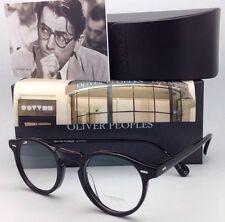 New OLIVER PEOPLES Eyeglasses GREGORY PECK OV 5186 1005 45-23 Round Black Frames