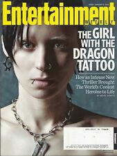 Rooney Mara Entertainment Weekly Jan 2012 Dragon Tattoo Helgenberger Glenn Close