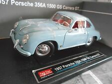Porsche 356 A 356 Coupe 1500 GS Carrera GT 1957 blue Bleu Sunstar 1:18