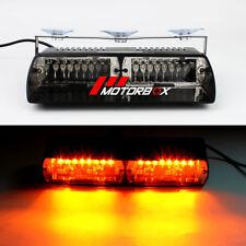 16LED Car Truck Warning Light Police Strobe Flash Light Dash Emergency Flashing