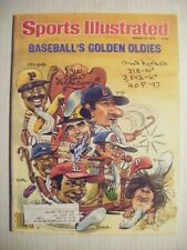 PHIL NIEKRO & GAYLORD PERRY signed 1979 Sports Illustrated YANKEES BASEBALL AUTO