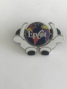 Disney Pins Mickey Hands Epcot Spinner