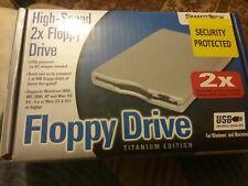 Velocidad 2X USB SMARTDISK High TITANIUM EDITION de la unidad de disquete, disco las lecturas y escrituras