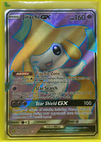 Pokemon Unified Minds Jirachi GX Full Art Promo Ultra Rare 79a/236