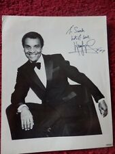 KENNY LYNCH SINGER AUTOGRAPHED PHOTO