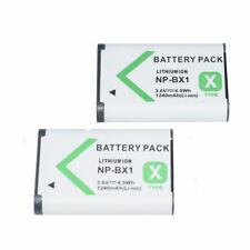 2x Battery Li-Ion For Sony Zv-1 Hx300 Hx400 Hx50V Rx1 Rx100 Rx100Ii Np-Bx1