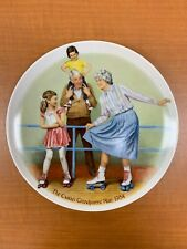 """The Skating Queen"" Collector Plate by Joseph Csatari with COA"