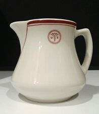 """Vintage USA US Army Medical Military Ceramic Pitcher by Sterling / 4.5"""" Height"""