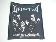 IMMORTAL WRATH FROM BLASHYRKH WOVEN PATCH