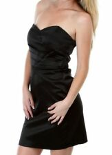 Satin Short Dresses for Women with Pleated
