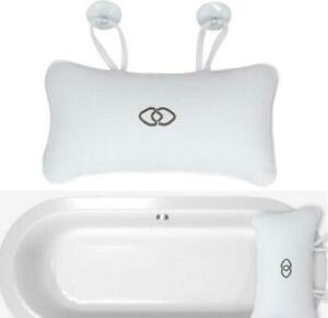 Bathtub Pillow Anti-slip Head Rest Inflatable Shower Suction Cups Bath Cushion
