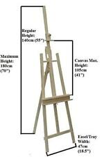 180 CM BEECH WOOD EASEL ARTISTS CANVAS ARTIST LARGE STUDIO COLLEGE EASEL BOK18