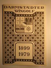 Darmstadt - Darmstädter Wingolf - 1899-1979 - Festschrift / Studentika
