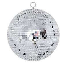 "12"" Mirror Glass Disco Ball Large Dj Dance Home Party Bands Club Stage Lighting"