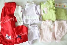 Baby Girl 6 9 M Months Clothing Mixed LOT Levi's Matching Sets Dress Hats Puppy