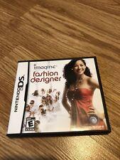 Imagine Fashion Designer Nintendo DS NDS Cib Game VC2