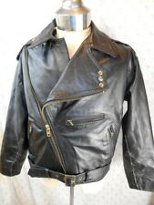 bc800cbb5 Leather Vintage Outerwear Coats & Jackets for Men for sale | eBay