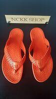 Louis Vuitton Thong Flip Flops in Orange. Size UK 4, EUR 37