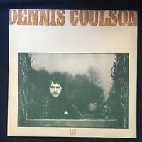 DENNIS COULSON Dennis Coulson PROMO ELEKTRA PHOTO Note Sticker VINYL LP K 42148