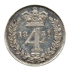 More details for km# 711 - fourpence - maundy issue - william iv - great britain 1831 (pr)