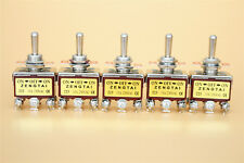 5 Pcs 3 Position On/Off/On Momentary 2P2T DPDT Toggle Switch for AC 250V 15A