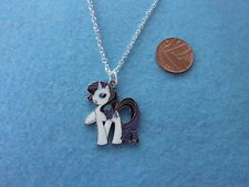 My Pony Rarity Enamel Pendnat Collar Little Regalo De Cumpleaños Presente # 134